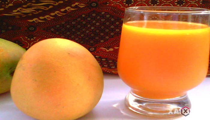 Resep cara membuat jus mangga gedong