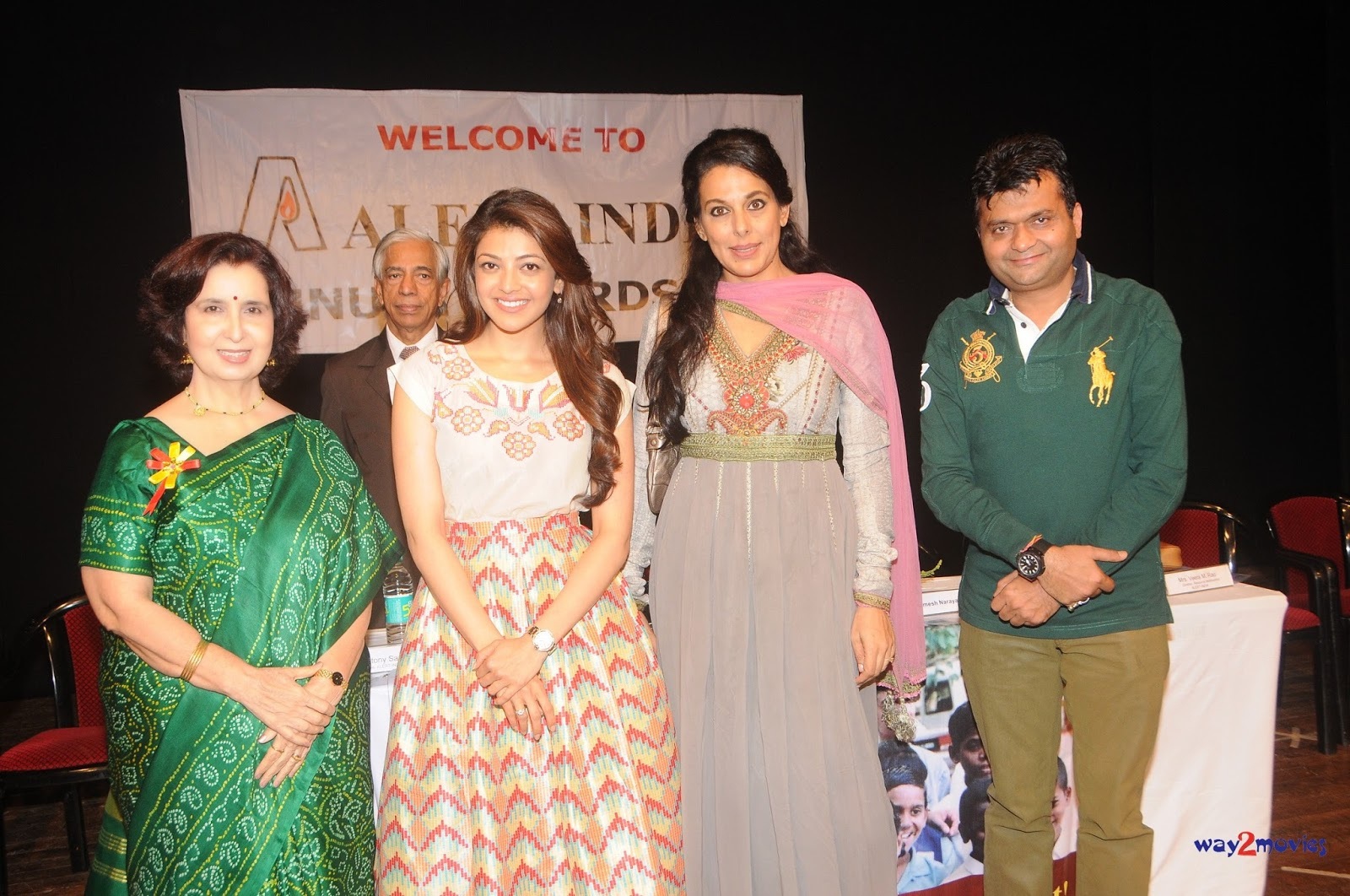 South actress Kajal Aggarwal & Pooja Bedi at Alert India NGO event