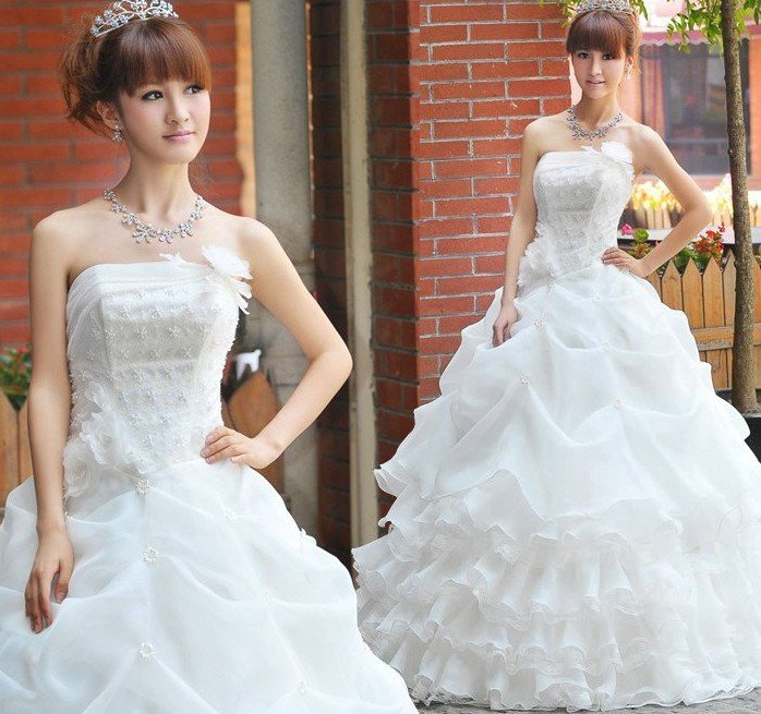 Wedding Gown Korean Style: Fashion Room: Korean Wedding Gowns For Brides