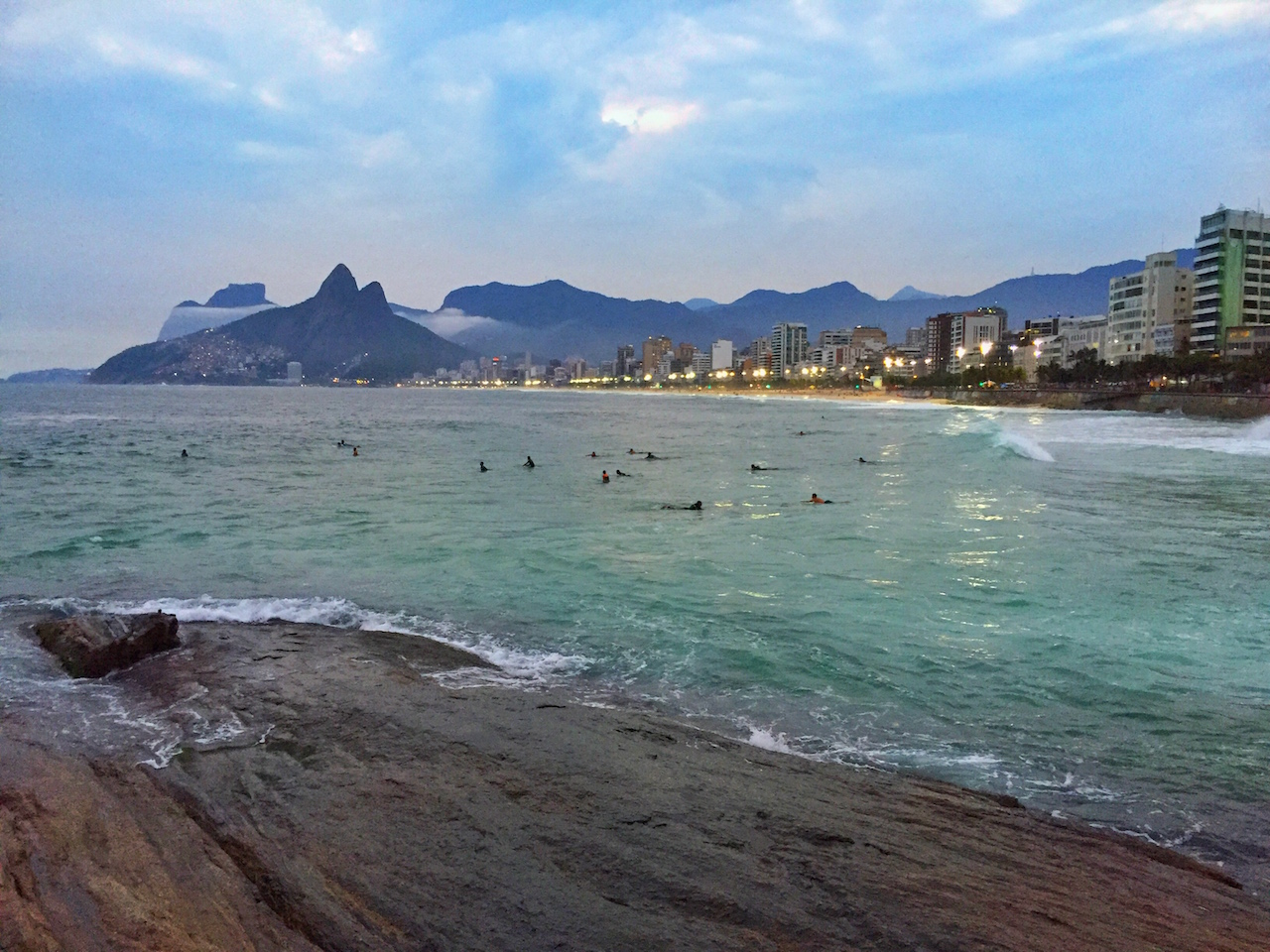 The Long Way to South America Ipanema Beach Rio de Janeiro Brazil