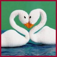 Cisnes de punto