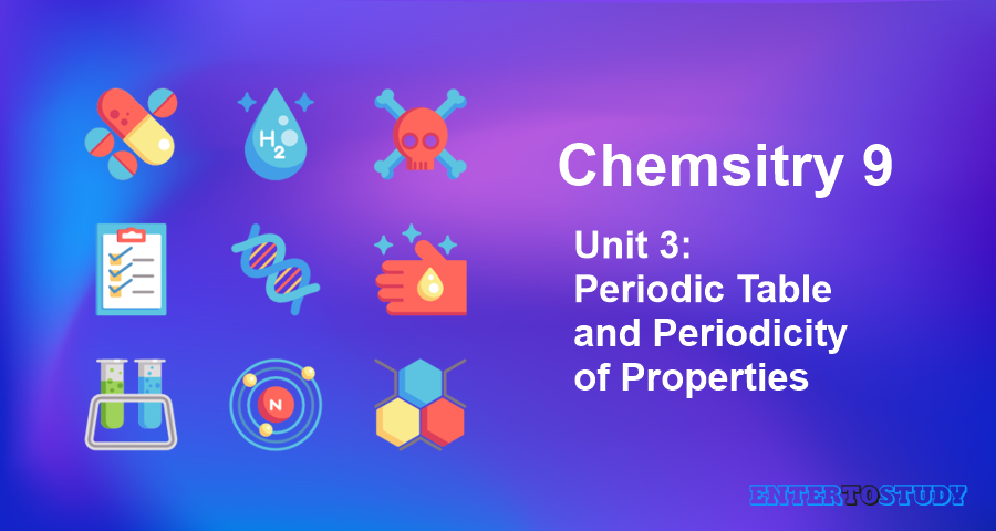 KIPS 9th Class Chemistry Notes Unit 3: Periodic Table and Periodicity of Properties