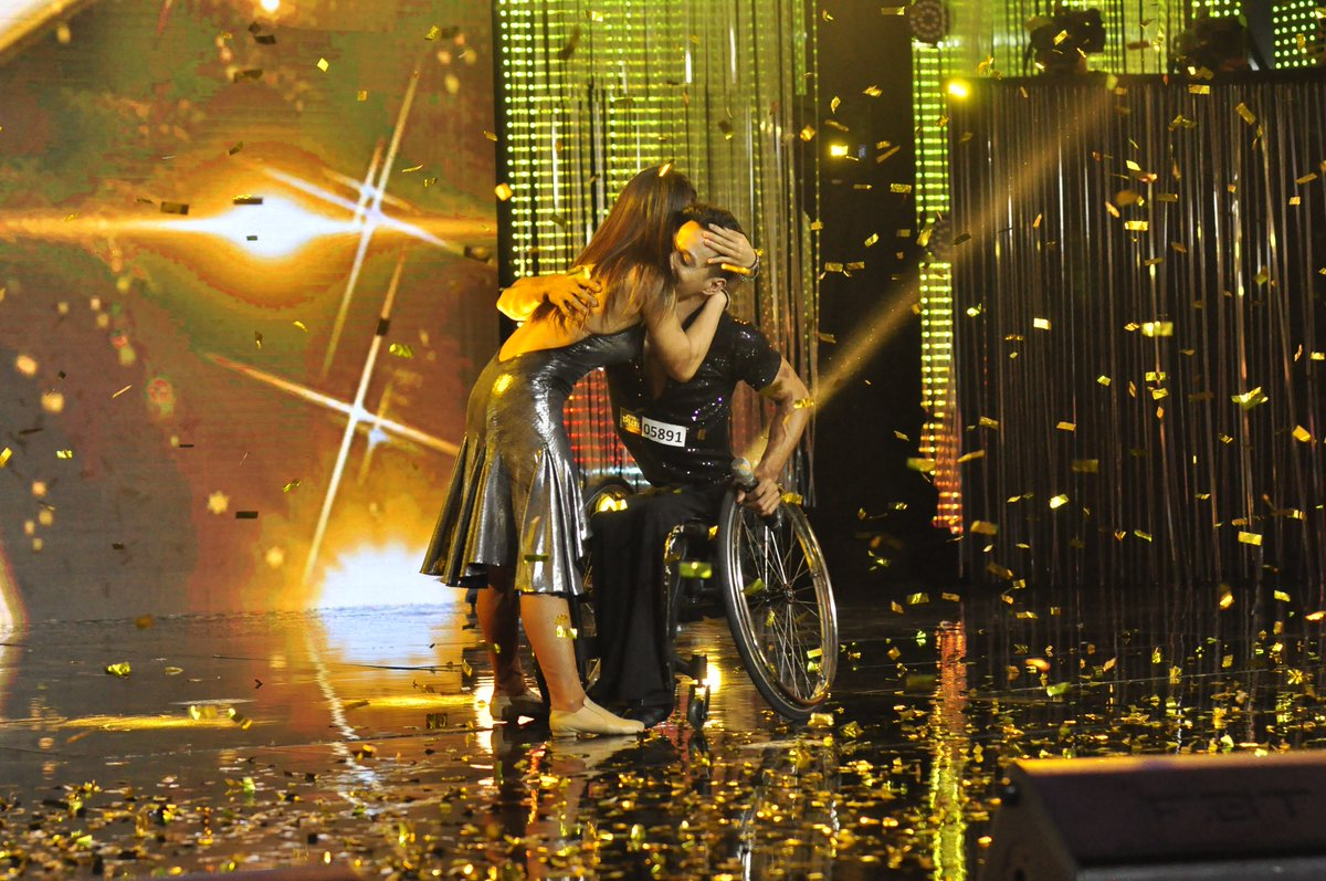 Para dance world champs get second golden buzzer on PGT 2018
