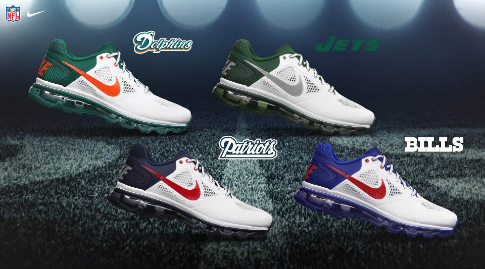 check out a0680 2f5d0 AFC West  Air Trainer SC NFC East  Air Max 95 No-Sew NFC North  Air Max 90.  NFC South  Free Trainer 5.0. NFC West  Free Haven 3.0s