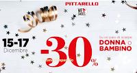 Logo Pittarello: richiedi il coupon del -30% per scarpe donna o bambino