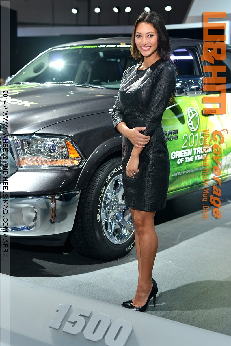 The Ultimate Wheels and Heels of LA Auto Show #laautoshow ...