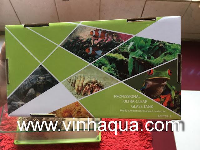 hồ đúc 5 size đang có tại Vinhaqua