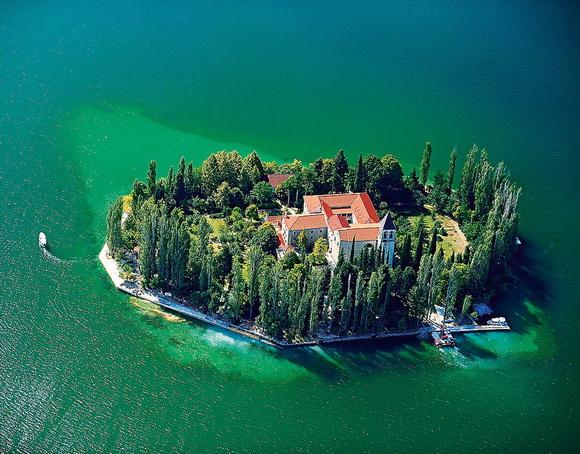 Visovac Island, Croatia