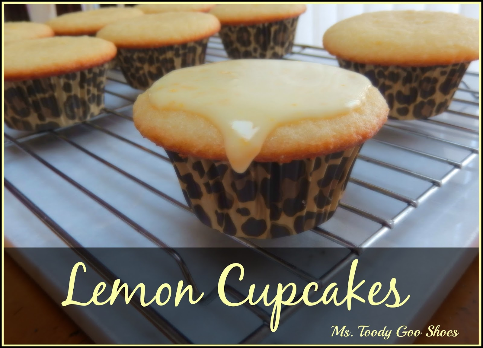 Lemon Cupcakes: Lemony goodness in every bite from #FlatBellyDiet Cookbook  ---Ms. Toody Goo Shoes.
