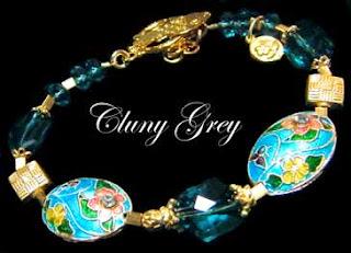 cloisonne bracelet