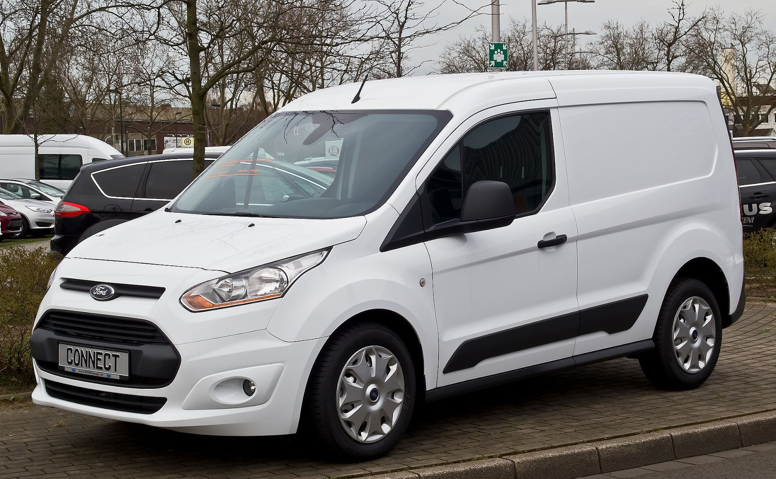 2015 ford transit connect a small van with focus