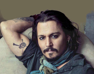 Johnny Depp handsome man