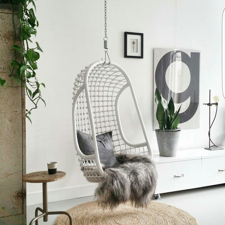 Hk Living Hangstoel.Marieke Rusticus Styling Rotan Hangstoel Hkliving