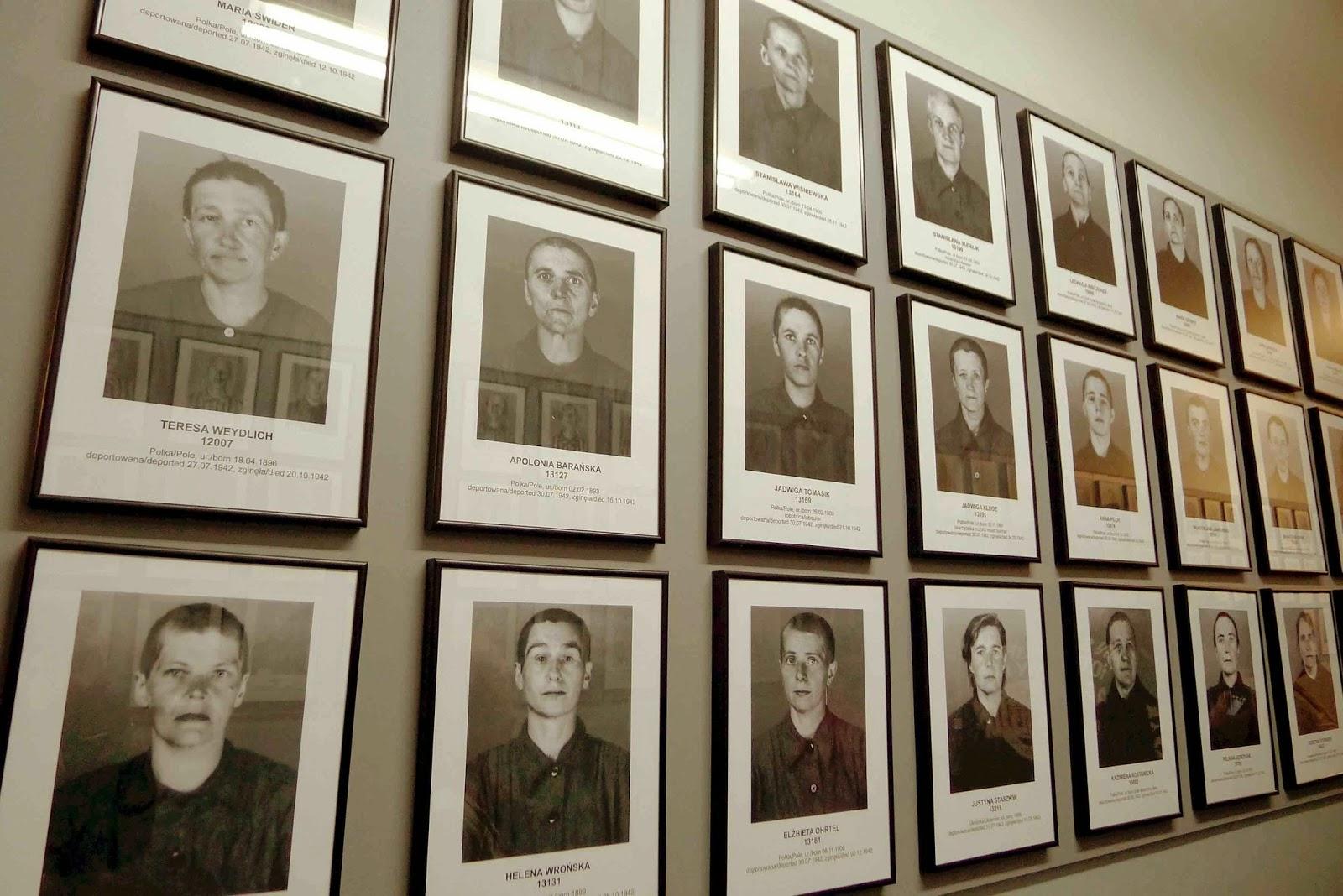 Auschwitz Hall of Photos