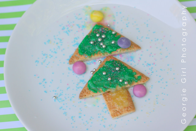 Love And Lollipops: Christmas Tree Biscuits