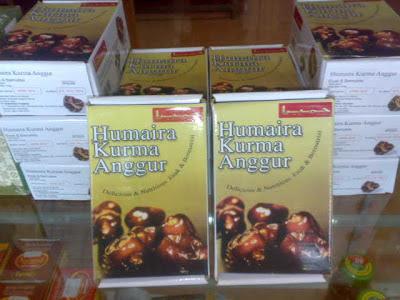 Humaira Kurma Anggur, Delicious & Nutritious. Enak & Bernutrisi