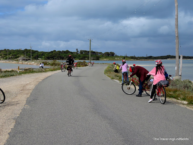 Bicycles on Rottnest island