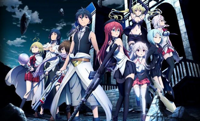 Trinity Seven Movie – Eternity Library and Alchemic Girl