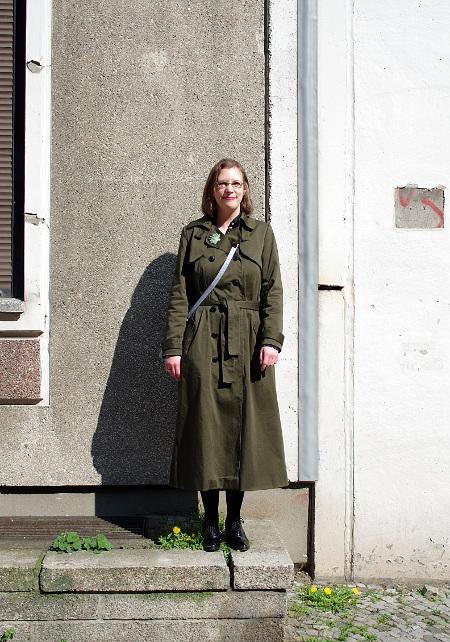 Export Frühling Mode Einfarbigen Dame Samt Vintage Mantel 5Rj4LAc3q