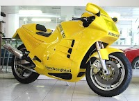 Known for the rare 33-year-old Lamborghini motorcycle, priced at $ 58,000
