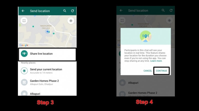 how to use whatsapp live location%2B%25284%2529