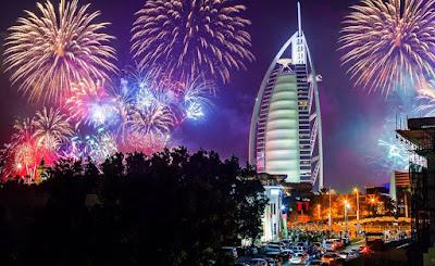 Kembang api Abu Dhabi