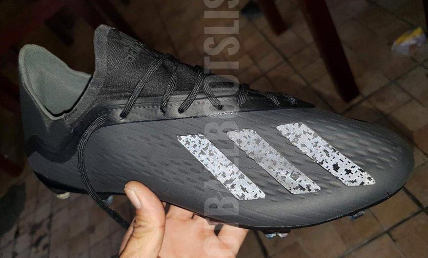 77f202ade967 The Adidas 'Shadow Mode' pack includes a unique colorway for the next-generation  Adidas X 18 cleat. Big thanks to boot experts Footballbootslism for the ...