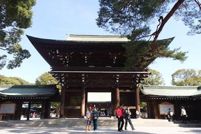 Meiji Shrine at Shibuya Tokyo Japan