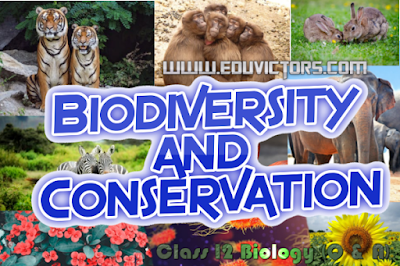 CBSE Class 12 - Biology - Biodiversity and Conservation - Questions and Answers(#cbsenotes)(#eduvictors)