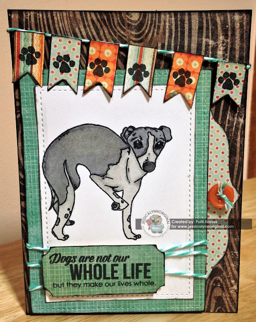 JessicaLynnOriginal Italian Greyhound Card