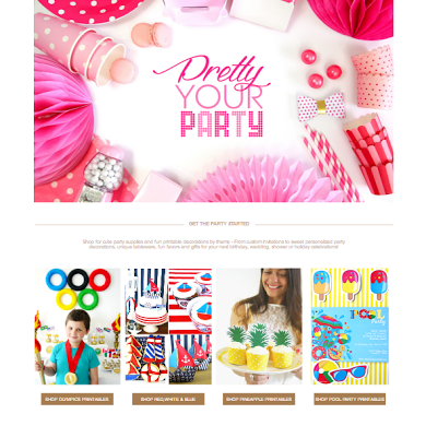 NEW Bird's Party Website and a Party GIVEAWAY