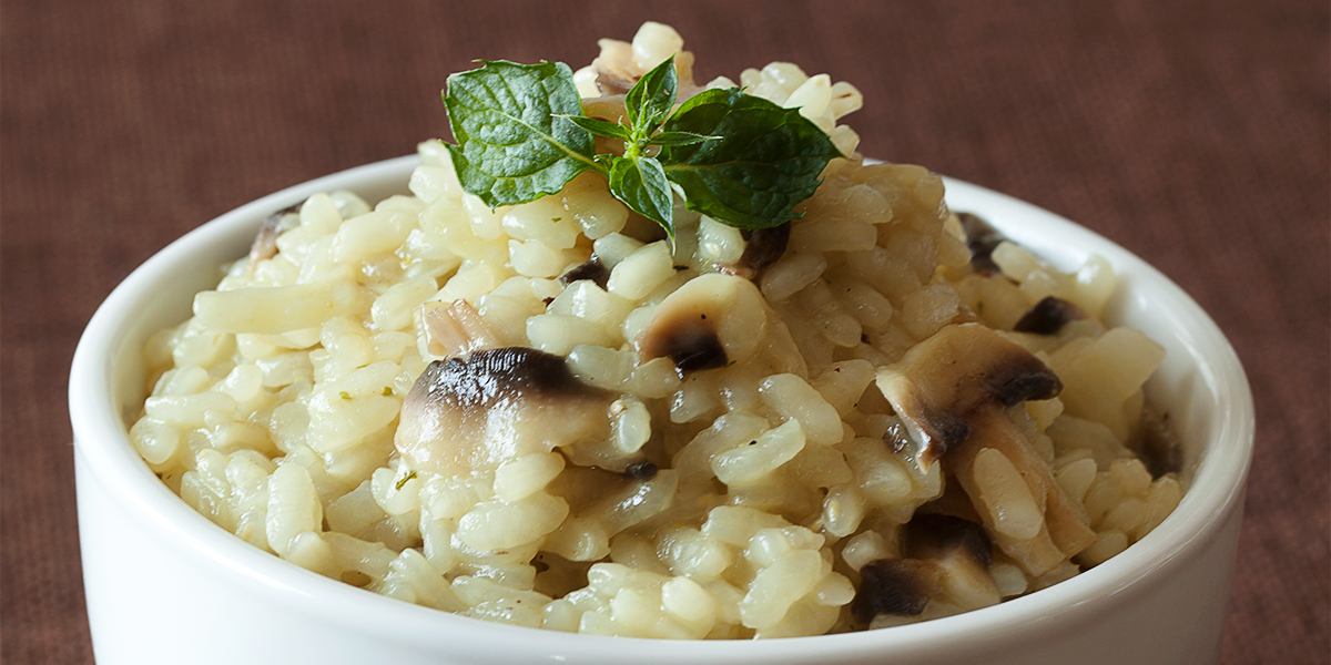 risotto aux champignons crokmou blog cuisine voyages. Black Bedroom Furniture Sets. Home Design Ideas