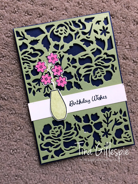 scissorspapercard, Stampin' Up!, Art With Heart, Colour Creations, Varied Vases Bundle, Detailed Floral Thinlits, Bitty Blooms Punches