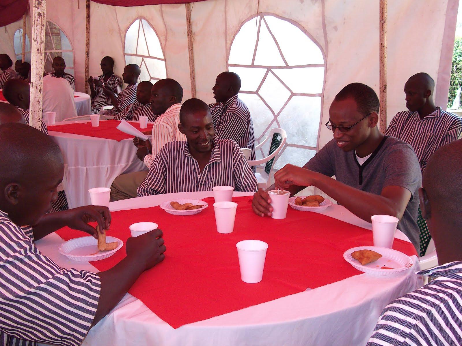 Christmas Tea Party - Jamhuri Prison   Nafisika Trust