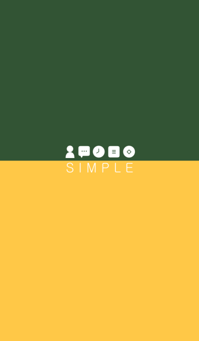SIMPLE(green yellow)b