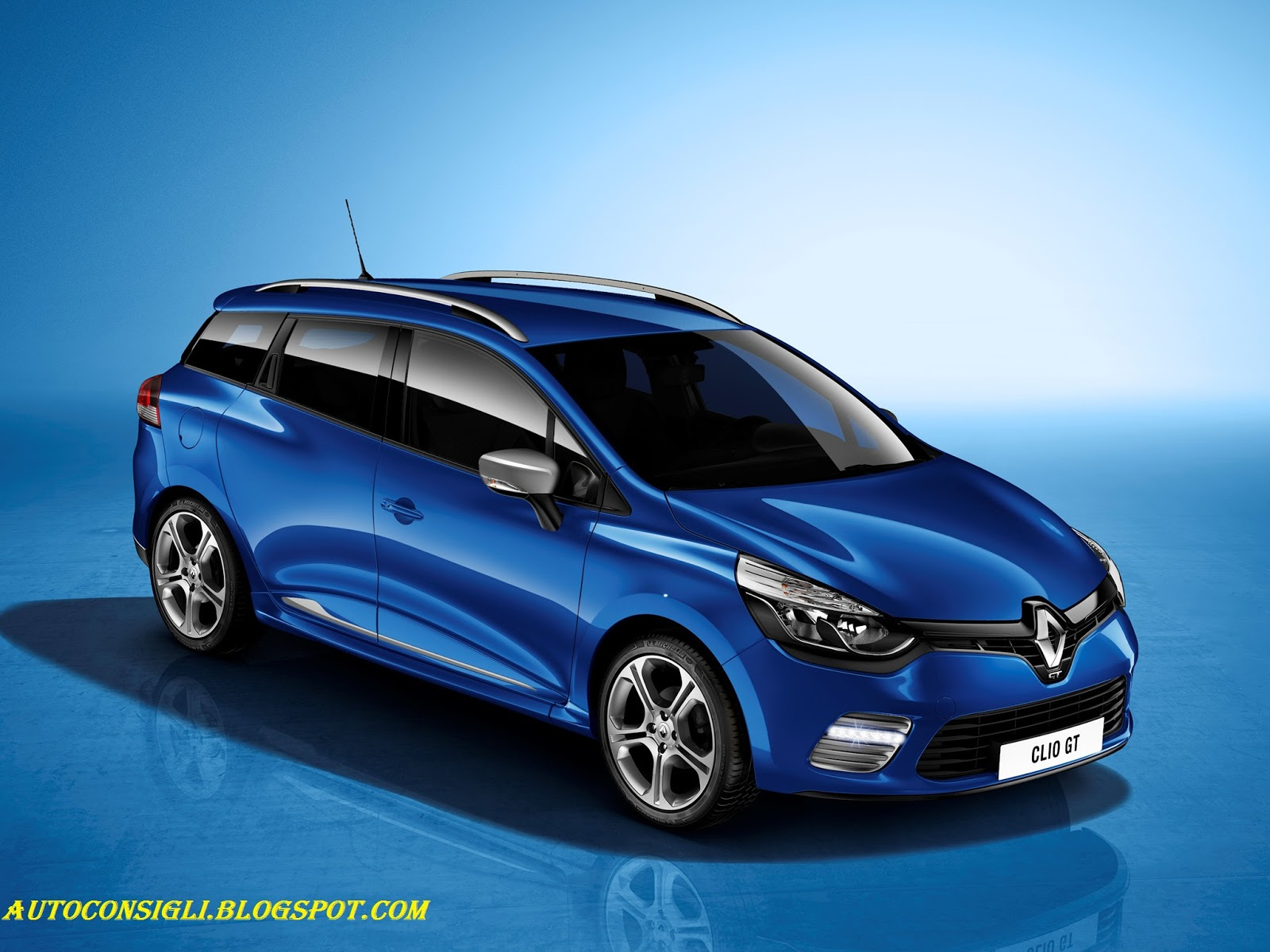 Renault Clio Station Car Al Top 33: Renault Clio 4 Gt 2013: Berlina E Station Wagon