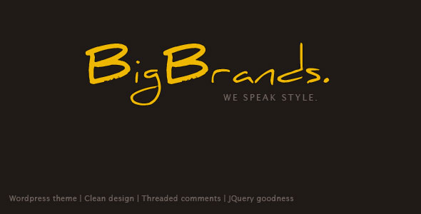 Free Download BigBrands V2.0 Wordpress Creative Premium Theme