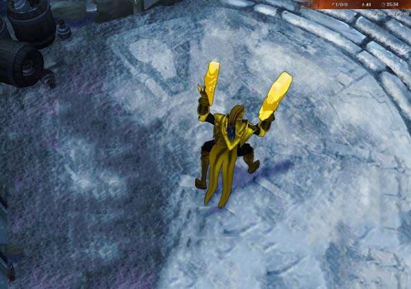 Mod Skin Lucian Yellow Lantern