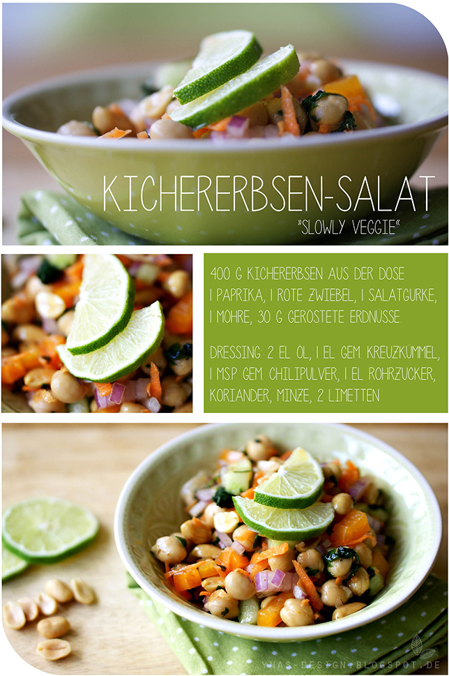 Ynas Design Blog, Kichererbsensalat