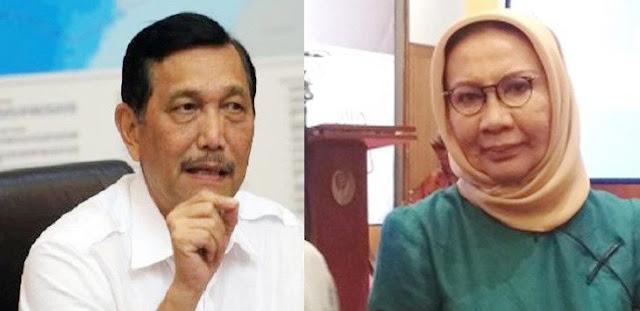 Trending Cekcok Sengit Menteri Luhut Dengan Nenek Ratna Sarumpaet di Danau Toba Yang Sok-sokan Bicara Mewakili Keluarga Korban Kapal Tenggelam
