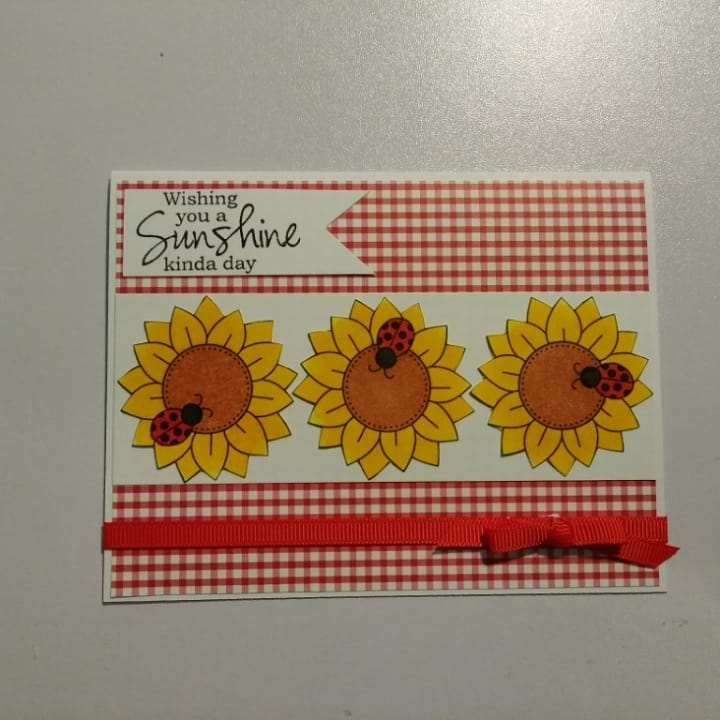 Wishing you a sunshine kinda day by Billie features Bloom by Newton's Nook Designs; #newtonsnook