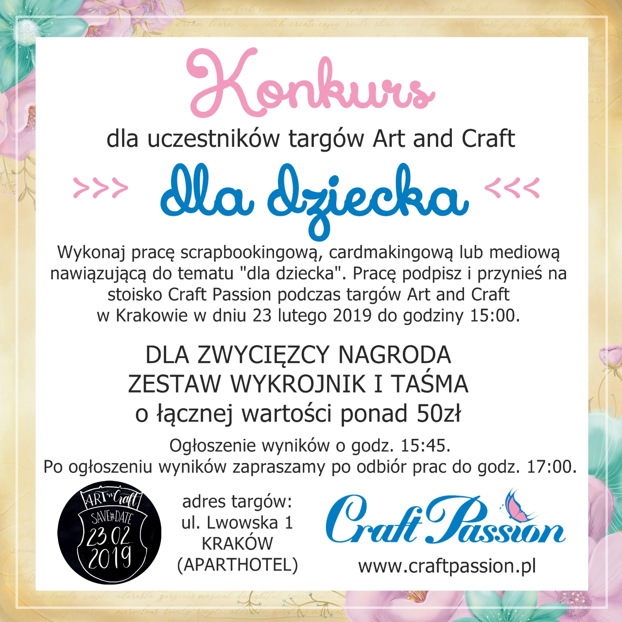 KONKURS - Art and Craft Kraków
