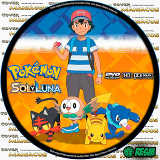 GALLETA POKEMON SOL Y LUNA -POKEMON SUN AND MOON [COVER - DVD]