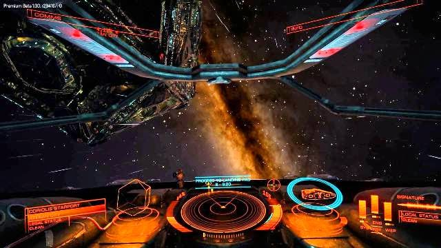 Elite Dangerous PC Games Gameplay