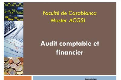 Cours Audit comptable et financier - master ACGSI