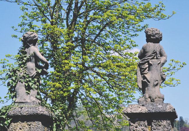 Leopoldskron entrance gate