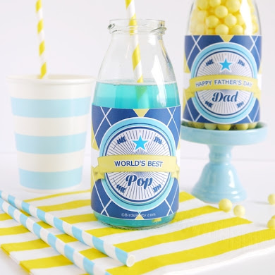 Free Father's Day Party Printables