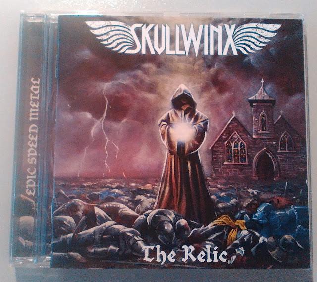 Skullwinx - The Relic (2016) - cover artwork by Theodora Dimitrova, Anton & Stanlislav Atanasov
