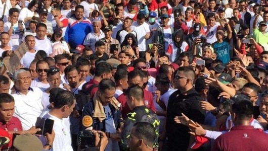 Jokowi Prediksi Menang 70-80 Persen di Sulawesi Tenggara