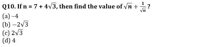 Algebra Questions for SSC CGL TIER-2 , SSC Stenographer & IB (ACIO) 2017_240.1